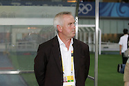 15 August 2008: Canada head coach Even Pellerud (NOR).  The women's Olympic team of the United States defeated the women's Olympic soccer team of Canada 2-1 after extra time at Shanghai Stadium in Shanghai, China in a Quarterfinal match in the Women's Olympic Football competition.