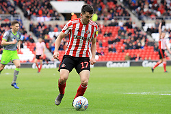 March 16, 2019 - Sunderland, Tyne and Wear, United Kingdom - Sunderland's Lewis Morgan during the Sky Bet League 1 match between Sunderland and Walsall at the Stadium Of Light, Sunderland on Saturday 16th March 2019. (Credit: Steven Hadlow | MI News) (Credit Image: © Mi News/NurPhoto via ZUMA Press)