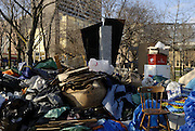 Windsor, Ontario. December 2011. 'Occupy Windsor', Day 57. Decamping and transitioning to the next phase.