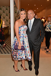 ALEXANDER & ELLA KRASNER at the Masterpiece Marie Curie Party supported by Jeager-LeCoultre held at the South Grounds of The Royal Hospital Chelsea, London on 30th June 2014.