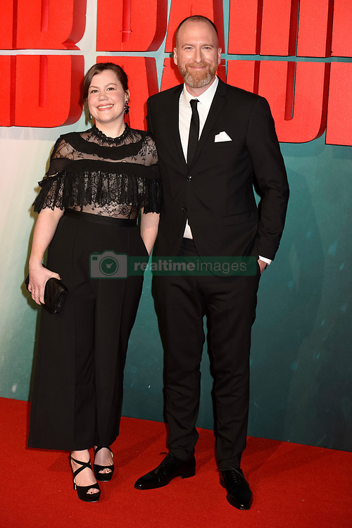 Ingrid Uthuag and Roar Uthuag (director) attend the Tomb Raider European Premiere at the Vue West End, London.  Picture date: Tuesday 6th March 2018.  Photo credit should read:  David Jensen/ EMPICS Entertainment