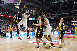 May 31, 2018 - Madrid, Madrid, Spain - Rudy Fernández (L) during Real Madrid victory over Iberostar Tenerife (83 - 73) in Liga Endesa playoff 1st round (game 1) celebrated in Madrid at Wizink Center. May 27th 2018. (Credit Image: © Juan Carlos Garcia Mate/Pacific Press via ZUMA Wire)