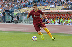 October 20, 2018 - Rome, Lazio, Italy - Stephan El Shaarawy during the Italian Serie A football match between A.S. Roma and Spal at the Olympic Stadium in Rome, on october 20, 2018. (Credit Image: © Silvia Lore/NurPhoto via ZUMA Press)