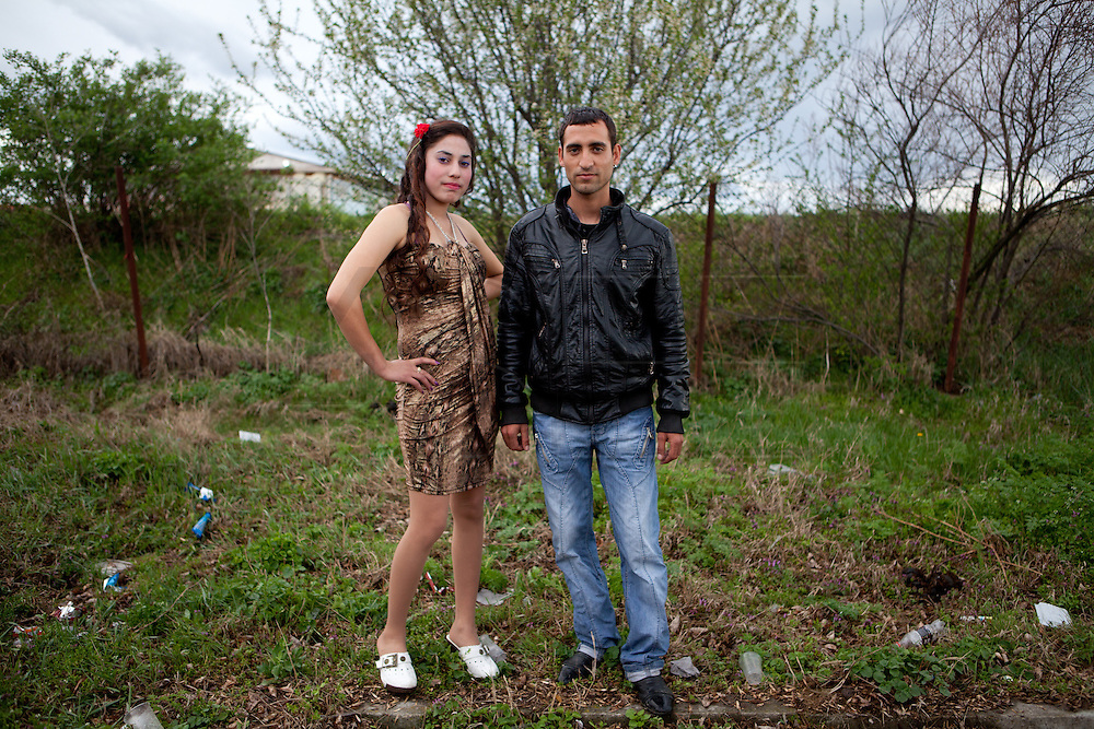 A couple is planning to marry in the next months. The candidate's father has agreed to pay 2.000€ for the girl. He migrates every summer to the south of Spain to work in the field. Each spring in Mogila, Bulgaria, is celebrated the Gypsy Bride Market. In this festival the virginity is for sale. The honor can be bought. Every girl has a price to be agreed between the parents of the girl and the candidate. The price can range between 1.500 and 10.000€, in a country where the minimum salary is just over 100€. The market joins the Kalajdzii families, known as the thracians tinkerers, whose tradition is still alive. Many girls dress as real princesses, others prefer to dress in a modern way. They dance during hours the ring dance while grandparents and parents watch the way the young interrelate. Many girls dream to be married by the rite imposed by the tradition. Nowadays there are some girls that don't agree with the tradition and would prefer not to marry, although they assist to these market all the times. Divorces and elopements, so far taboo, are becoming everytime more frequent. Beyond the topic, ethnologists, define it as the Kalajdzii's disco, where the family honor is involved in a commercial transaction. This ritual has being celebrated for years, so anthropologists think is not going to change too much in future.