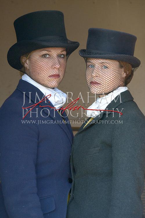 Mary Musheno and Becca Barker Photograph by Jim Graham