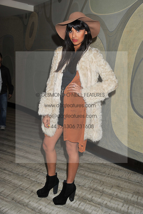 JAMEELA JAMIL at a party to launch PRPS's new luxury denim line called Noir whilst raising money for UNICEF Japan, held at Nobu Berkeley Street, London on 5th September 2011.