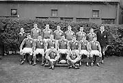 Irish Rugby Football Union, Ireland v England, Five Nations, Landsdowne Road, Dublin, Ireland, Saturday 11th February, 1967,.11.2.1967, 2.11.1967,..Referee- D M Hughes, Welsh Rugby Union, ..Score- Ireland 3 - 8 England, ..Irish Team, ..T J Kiernan,  Wearing number 15 Irish jersey, Full Back, Cork Constitution Rugby Football Club, Cork, Ireland,..D Scott, Wearing number 14 Irish jersey, Right Wing, Queens University Rugby Football Club, Belfast, Northern Ireland, ..F P K Bresnihan, Wearing number 13 Irish jersey, Right Centre, University College Dublin Rugby Football Club, Dublin, Ireland, ..J C Walsh,  Wearing number 12 Irish jersey, Left Centre, Sundays Well Rugby Football Club, Cork, Ireland, ..N H Brophy, Wearing number 11 Irish jersey, Left wing, Blackrock College Rugby Football Club, Dublin, Ireland, ..C M H Gibson, Wearing number 10 Irish jersey, Stand Off, N.I.F.C, Rugby Football Club, Belfast, Northern Ireland, ..B F Sherry, Wearing number 9 Irish jersey, Scrum Half, Terenure Rugby Football Club, Dublin, Ireland, ..K G Goodall, Wearing number 8 Irish jersey, Forward, Newcastle University Rugby Football Club, Newcastle, England, ..M G Doyle, Wearing number 7 Irish jersey, Forward, Edinburgh Wanderers Rugby Football Club, Edinburgh, Scotland, ..N Murphy, Wearing number 6 Irish jersey, Captain of the Irish team, Forward, Cork Constitution Rugby Football Club, Cork, Ireland,..M G Molloy, Wearing number 5 Irish jersey, Forward, University College Galway Rugby Football Club, Galway, Ireland,  ..W J McBride, Wearing number 4 Irish jersey, Forward, Ballymena Rugby Football Club, Antrim, Northern Ireland,..P O'Callaghan, Wearing number 3 Irish jersey, Forward, Dolphin Rugby Football Club, Cork, Ireland, ..K W Kennedy, Wearing number 2 Irish jersey, Forward, C I Y M S Rugby Football Club, Belfast, Northern Ireland, ..T A Moroney, Wearing number 1 Irish jersey, Forward, University College Dublin Rugby Football Club, Dublin, Ireland,