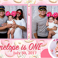 Penelope 1st Birthday PhotoBooth