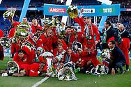 24-04-2016 VOETBAL: KNVB BEKERFINALE FEYENOORD-FC UTRECHT: ROTTERDAM <br /> <br /> feyenoord met de KNVB beker <br /> <br /> foto: Geert van Erven