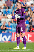 Wycombe Wanderers goalkeeper Ryan Allsop (1) during the EFL Sky Bet League 1 match between Gillingham and Wycombe Wanderers at the MEMS Priestfield Stadium, Gillingham, England on 14 September 2019.