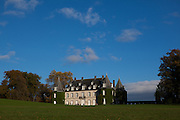 Chateau de la Hulpe, on the edge of the Sonian Forest, near Brussels, Belgium.