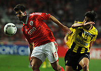 20120316: LISBON, PORTUGAL - Liga Zon Sagres 2011/2012: SL Benfica vs Beira-Mar. In picture: Nelson Oliveira. PHOTO: Alvaro Isidoro/CITYFILES
