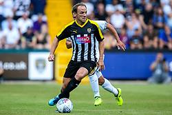 David Vaughn of Notts County - Mandatory by-line: Robbie Stephenson/JMP - 14/07/2018 - FOOTBALL - Meadow Lane - Nottingham, England - Notts County v Derby County - Pre-season friendly
