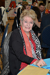 DAME JANET SUZMAN at a lunch in aid of the charity African Solutions to African Problems (ASAP) held at the Royal Horticultural Hall, Vincent Square, London on 19th May 2016.