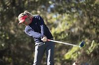 BILDET INNGÅR IKEK I FASTAVTALER. ALL NEDLASTING BLIR FAKTURERT.<br /> <br /> Golf<br /> Foto: imago/Digitalsport<br /> NORWAY ONLY<br /> <br /> February 05, 2016: Suzann Pettersen tees off on hole 1 during the third round of the Coates Golf Championship in Ocala, FL. (Photograph by Roy K. Miller/Icon Sportswire) GOLF: FEB 05 LPGA Golf Damen - Coates Golf Championship - Third Round