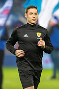 Referee Steven McLean before the Ladbrokes Scottish Premiership match between Rangers and Aberdeen at Ibrox, Glasgow, Scotland on 5 December 2018.