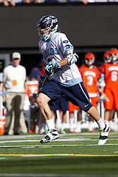 10 April 2010: North Carolina Tar Heels midfielder Cam Wood (21) during a 7-5 loss to the Virginia Cavaliers at the New Meadowlands Stadium in the Meadowlands, NJ.