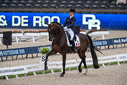 Barbancon Mestre Morgan, ESP, Sir Donnerhall II Old<br /> European Championship Dressage<br /> Rotterdam 2019<br /> © Hippo Foto - Dirk Caremans