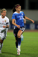 Fifa Womans World Cup Canada 2015 - Preview //<br /> Algarve Cup 2015 Tournament ( Vila Real San Antonio Sport Complex - Portugal ) - <br /> Norway vs Usa 1-2 , Alex Morgan of Usa