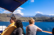 ESP, Spain, the Canary Islands, island of La Palma, boat-trip at the west coast near  Puerto de Tazacorte.<br /> <br /> ESP, Spanien, Kanarische Inseln, Insel La Palma, Bootsausflug an der Westkueste bei Puerto de Tazacorte.