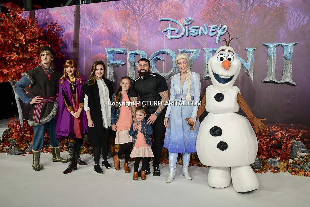 Ant Middleton attend European Premiere of Frozen 2 on 17 November 2019, BFI Southbank, London, UK.