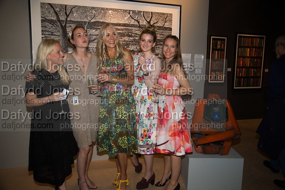 SARAH HEALEY; GEORGIA MCCANN; REBECCA HOSSACK; FRANKIE CHERRY; BEATRICE SARTIRANA; The LAPADA Art & Antiques Fair - private view, Berkeley Sq. London. 12  September 2016