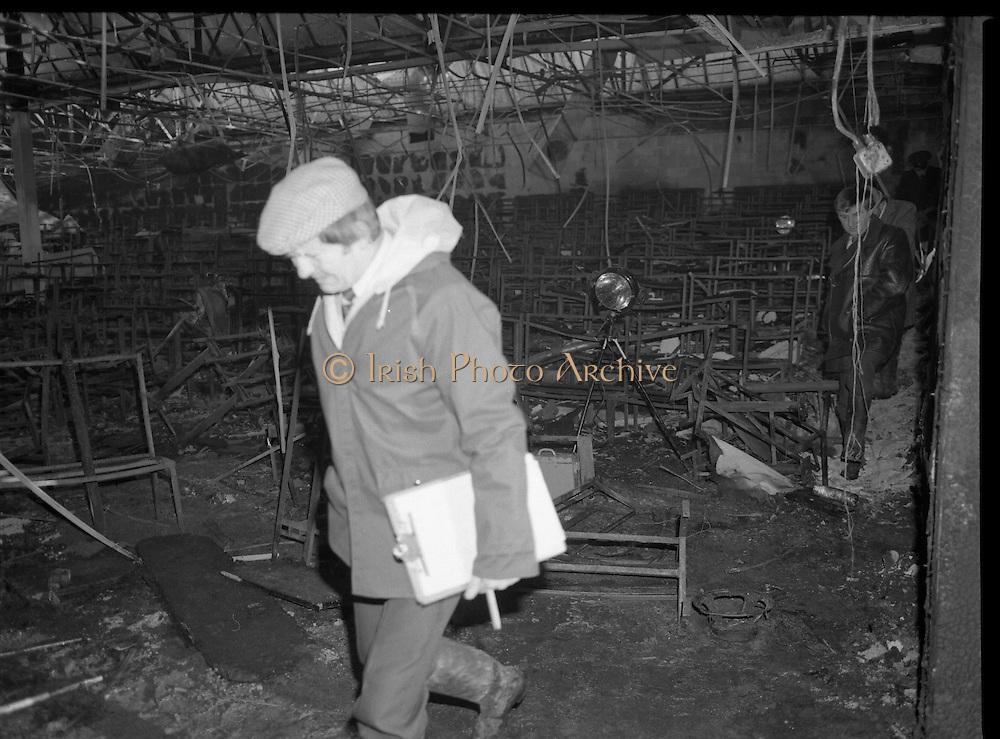 Stardust Fire at Artane.14/02/1981