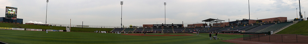 09 June 2011:   during a game between the Lake Erie Crushers and the Normal Cornbelters at the Corn Crib in Normal Illinois.