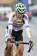 BELGIUM / BELGIQUE / BELGIE / CYCLOCROSS / VELDRIJDEN / CYCLO-CROSS / CYCLING / OVERIJSE / DRUIVENCROSS / ELITE / WOMEN / AANKOMST / FINISH / ARRIVEE / ZIEL / NIKKI HARRIS (GBR) /