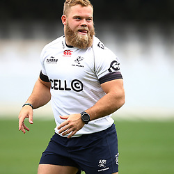 Akker van der Merwe during The Cell C Sharks Captian RunRoad to the Currie Cup final at Growthpoint Kings Park in Durban, South Africa. 27th October 2017 (Photo by Steve Haag)