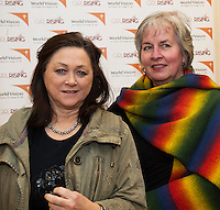 World Vision Ireland  held an exclusive screening of the critically acclaimed feature length movie Girl Rising in An Taibhdhearc, Middle Street, Galway. <br /> At the event were Olga Sculy and Lynda post Huizen, Renville.<br /> Girl Rising is a critically and internationally acclaimed feature film - narrated by Meryl Streep, Liam Neeson, Anne Hathaway and others - about the strength of the human spirit and the power of education.<br /> <br /> Photo:Andrew Downes
