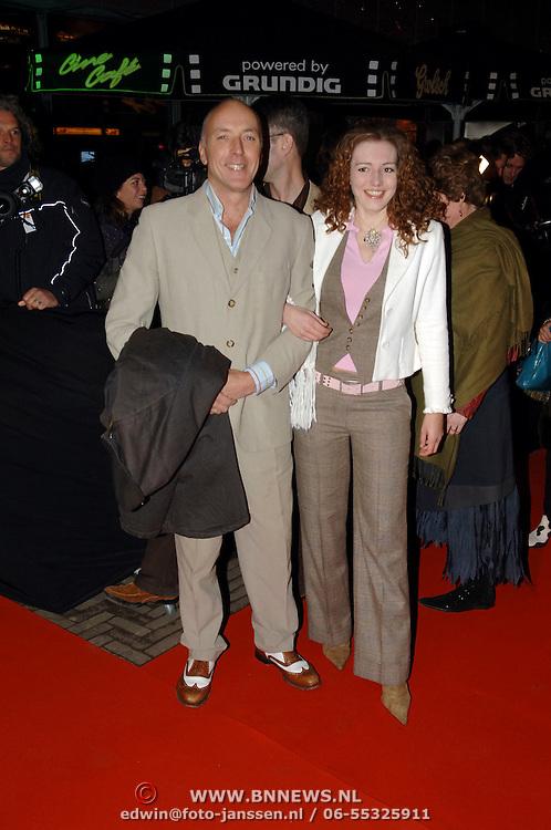 NLD/Amsterdam/20060307 - Premiere Ik omhels je met duizend armen, Alfred van der Heuvel en Claudia Rooyens