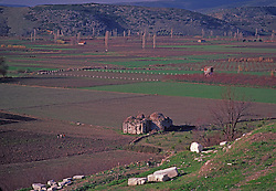 Turkish Town and Agricultural Farms