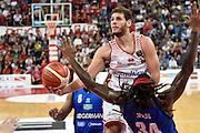 Tiro, Penetrazione<br /> Consultinvest Pesaro - Germani Basket Brescia<br /> BASKET Serie A 2016 <br /> Pesaro 02/10/2016 <br /> FOTO CIAMILLO