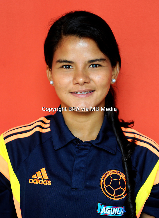 Fifa Woman's Tournament - Olympic Games Rio 2016 -  <br /> Colombia National Team - <br /> Manuela Alexandra Gonzalez Mendoza