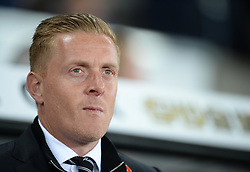 Swansea City Manager Garry Monk - Mandatory byline: Alex James/JMP - 07966 386802 - 19/10/2015 - FOOTBALL - The Liberty Stadium - Swansea, Wales - Swansea v Stoke - Barclays Premier League