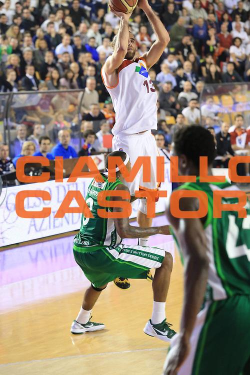 DESCRIZIONE : Roma Lega A 2012-2013 Acea Roma Sidigas Avellino<br /> GIOCATORE : Datome Luigi<br /> CATEGORIA : three points<br /> SQUADRA : Acea Roma<br /> EVENTO : Campionato Lega A 2012-2013 <br /> GARA : Acea Roma Sidigas Avellino<br /> DATA : 07/04/2013<br /> SPORT : Pallacanestro <br /> AUTORE : Agenzia Ciamillo-Castoria/M.Simoni<br /> Galleria : Lega Basket A 2012-2013  <br /> Fotonotizia : Roma Lega A 2012-2013 Acea Roma Sidigas Avellino<br /> Predefinita :