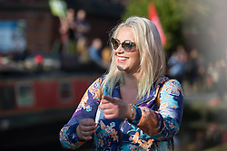 © Licensed to London News Pictures . 04/10/2015 . Manchester , UK .  CHARLOTTE CHURCH at a demonstration against the Conservative government , organised by The People's Assembly , through Manchester City Centre , during the first day of the Conservative Party Conference in Manchester . Photo credit: Joel Goodman/LNP