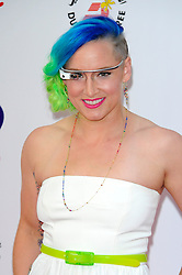 Wimbledon Party<br /> Bethanie Mattek-Sands attends the annual pre-Wimbledon party at Kensington Roof Gardens,<br /> London, United Kingdom<br /> Thursday, 20th June 2013<br /> Picture by Chris  Joseph / i-Images
