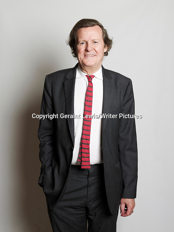Sir David Hare, English playwright and theatre and film director at The Oxford Literary Festival at Christchurch College Oxford. Taken 24th March 2012<br /> <br /> Credit Geraint Lewis/Writer Pictures<br /> <br /> WORLD RIGHTS