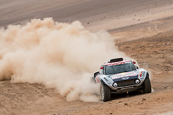 Cyril Despres (FRA) of X-raid MINI JCW Team races during stage 04 of Rally Dakar 2019 from Arequipa to o Tacna, Peru on January 10, 2019 // Marcelo Maragni/Red Bull Content Pool // AP-1Y39DR2AS2111 // Usage for editorial use only // Please go to www.redbullcontentpool.com for further information. //
