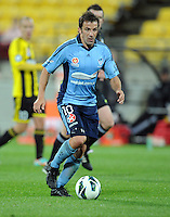 Sydney FC's Alessandro del Piero against the Phoenix in the A-League foootball match at Westpac Stadium, Wellington, New Zealand, Saturday, October 06, 2012. Credit:SNPA / Ross Setford