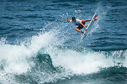 Praia de Santa Bárbara, Sao Miguel / Azores Islands (Friday, September 5, 2014): Italo Ferreira (BRA) placed equal 5th today at the ASP Prime SATA Azores Pro pres. by Sumol, defeated by France's Joan Duru (FRA) in their quarterfinal bout.<br /> IMAGE CREDIT: ASP/Poullenot<br /> PHOTOGRAPHER CREDIT: Damien Poullenot