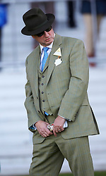 The former head of Barclays' investment banking arm, Rich Ricci. at Ascot Race Course, Ascot, United Kingdom. Saturday, 23rd November 2013. Picture by i-Images