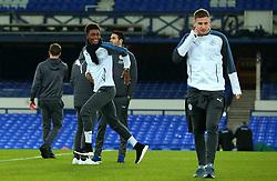 Demarai Gray of Leicester City arrives at Goodison Park for the Premier League Match against Everton - Mandatory by-line: Robbie Stephenson/JMP - 31/01/2018 - FOOTBALL - Goodison Park - Liverpool, England - Everton v Leicester City - Premier League