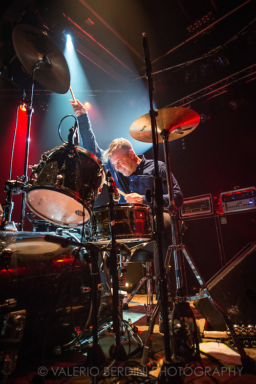 John Stanier of Battles, the New York band, live at the Cambridge Junction on 26 October 2015