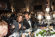ANNA FRIEL; TOM HIDDLESTON, Luminous -Celebrating British Film and British Film Talent,  BFI gala dinner & auction. Guildhall. City of London. 6 October 2015.