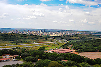 View of Pretoria from the Voortrekker Monument, South Africa.