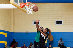 Milton M. Newton Summer Classic Basketball Single Elimination 13-16 CoEd Tournament at the Charlotte Amalie High School Gymnasium.  St. Thomas, USVI.  8 August 2016.  © Aisha-Zakiya Boyd