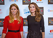 Queen Rania & Princess Beatrice Attend Women In World Summit